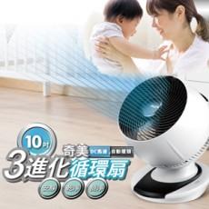 【CHIMEI奇美】10吋DC遙控循環渦流扇 3D擺頭 DF-10A0CD