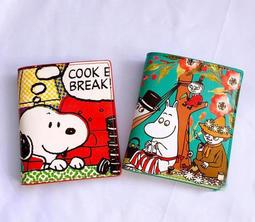 史努比 嚕嚕米 卡夾 卡片包 moomin 小不點 真皮 牛皮 錢包 皮夾 snoopy 生日禮物 情人節禮物