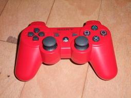 兩件免運! PS3 原廠無線震動手把(紅)(DUALSHOCK3)(保固一個月)(已消毒)