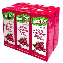 Tree top樹頂100%蔓越莓綜合果汁200ml*24入/箱
