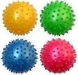 小刺球按摩球充氣球--訓練兒童抓握玩具