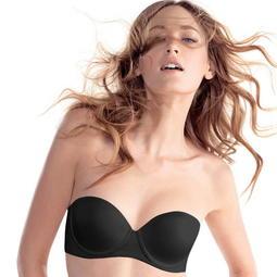 黛安芬 Body Make-Up 身體底妝超彈力薄透貼身魔術版 時尚性感軟鋼圈胸罩內衣 黑色 75C 34C 華歌爾參考