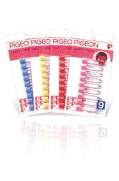 《凱西寶貝》 PIGEON 貝親 安全別針 ( 9入裝 )( PK882 )( 日本製 )