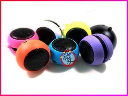 【Crazy Ted】漢堡喇叭 3.5mm耳機孔內建電池 /手機喇叭/音響/擴音器