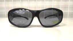 Solar Shield 外覆式偏光太陽眼鏡-XL透氣款 眼鏡族可直接配戴(買就送美活家銀纖維襪1雙)