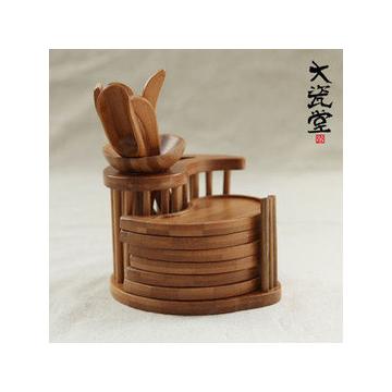 孟宗竹太極茶道組合 天然竹 茶道六件套茶道配件 茶盤 茶具專用
