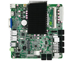 Mini-ITX 12 埠 SATA NAS 主機板 (Intel Celeron Processor J1900)