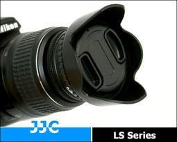 『BOSS』JJC螺紋式蓮花遮光罩52mm 58mm(可反裝反接倒裝反扣,螺紋轉接環+插刀蓮花罩)適NIKON CANON PETAX SONY MINOLTA OLYMPUS