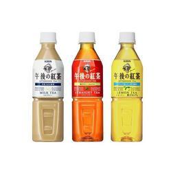 KIRIN午後紅茶-奶茶-檸檬紅茶-1瓶(500ml/瓶)