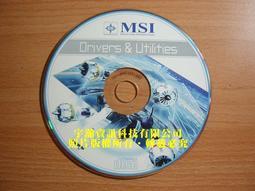 【恁裕】【二手商品】微星 K9N6GM 主機板驅動程式光碟片@K9N6GM_MB