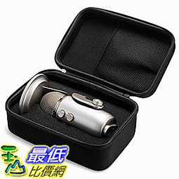 [7美國直購] Caseling B06XX8NCKF 麥克風 收納殼 保護殼 CASE Fits the Blue Yeti USB Microphone/Yeti Pro