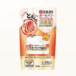 【日本正品保證】SANA 豆乳 美肌多效保濕霜 補充包 濃厚 滋潤型 100g 6合1 469558(面霜 精華液)