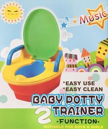 【otter】台灣製 多功能兒童學習音樂馬桶 【可裝一般馬桶】 多功能學習便器 便盆 兒童馬桶