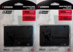 金士頓A400 120G 120GB SSD SA400S37/120G 240G 240GB 480G 480GB