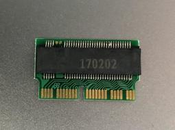 M.2 PCie NAMe轉2013,14版macbook A1465 A1398 A1502 512G SSD轉接卡