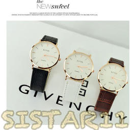 🔴夯人手一支 情人節對錶 情人節禮物 交換禮物 韓國 KEVIN牛皮質錶 手錶 非 卡西歐 阿曼尼 CK DW 日內瓦
