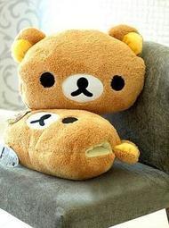 【Ziga*里家】☆Rilakkuma 可愛輕鬆熊.拉拉熊抱枕.暖手枕.靠墊.暖手悟∼☆禮物