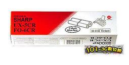 【101-3C數位館】全新 SHARP UX-5CR / FO-6CR 轉寫帶【1盒共2支裝】適用 UX-P400 / FO-P600《足米》