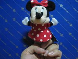 ◇希A娃娃屋◆ 迪士尼 米妮 手指娃娃 玩偶弔飾
