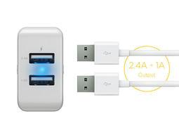 台達電全新原廠Innergie PowerJoy Plus 17 17瓦雙USB快速充電器/旅充/手機充電/平板充電