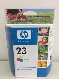 >HP NO.23 C1823DA原廠彩色墨水匣(全新/過期)