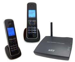 【血拼死鬥】HTT DECT雙外線數位行動總機 UT-200D (附數位無線話機)