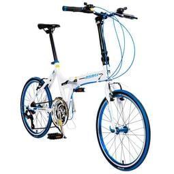 紀錄單車 mismax ma-6 3x7 21速 20吋 451 折疊車 鑽石管 鋁合金車架 陽極輪圈 小折