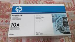 HP 原廠黑色碳粉匣 10A Q2610A HP Laser Jet 2300L 2300