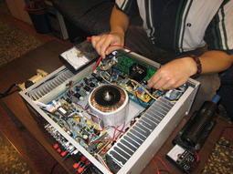現場專業維修音響維修服務站修理金嗓美華大唐音圓卡拉OK點歌機擴大機音響.喇叭麥克風