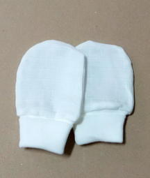 快樂屋  附發票 GMP BABY 純棉紗布長手套 XM001 適用:0~6個月