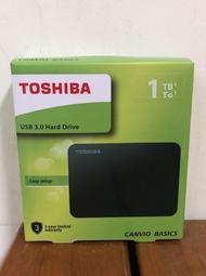 [新莊門市 含稅開發票 ]自取價1400元 TOSHIBA A3 1TB USB3.0 2.5吋行動硬碟 黑靚潮III