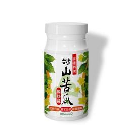 【日濢Tsuie】花蓮4號山苦瓜暢快錠(60錠/罐)