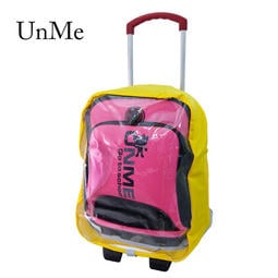 阿寶的店  Unme 拉桿書包專用貼心實用防水雨衣套/拉桿書包防雨套 1543