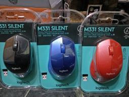 【全新盒裝公司貨一年保固】羅技Logitech M331無線滑鼠 黑.紅.藍三色 G304.G502.G703.M720