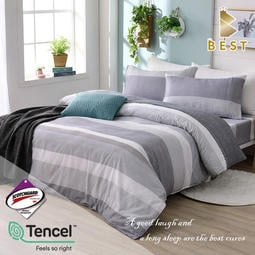 【BEST貝思特】現貨 3M頂級天絲床包組 (單人/雙人/加大/特大) 兩用被床包 TENCEL+3M弔牌 都市密碼