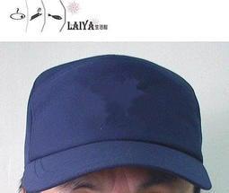 ☆°萊亞生活館 °工作帽-七片帽-外場工作帽-遮陽帽【藍色】