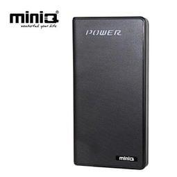 【3C工坊】miniQ Touch 12000+雙輸出觸碰式行動電源12000mAh沉穩黑