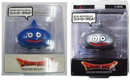 【勇者鬥惡龍系列】PS1 PS2 史萊姆手把控制器 藍色 銀色 裝飾用有臺座 好可愛 共2隻