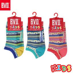 BVD童襪 民俗風童踝襪