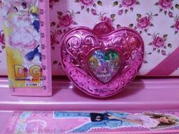 【光之美少女 粉紅收納盒 玩具15】 二手 收藏 動畫卡通動漫 絕版 稀有 懷舊 早期