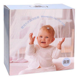 【貝比龍婦幼館】奇哥 嬰兒大床圓頂蚊帳 / 嬰兒床蚊帳 (公司貨)