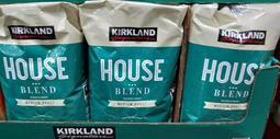 好市多KIRKLAND柯克蘭精選咖啡豆907克=2磅(綠包裝中度烘培,包裝上寫星巴克代工烘培) (0利潤,每單限購5包)