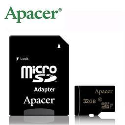 Apacer 宇瞻 32G 32GB microSD microSDHC TF U1 C10 記憶卡 手機卡 TF