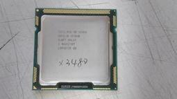 Intel Xeon X3480 3.06G LGA1156 四核八線 二手良品 無風扇 售$2500元/顆