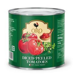 歐陸食材小舖 義大利 ORO 去皮 切碎 番茄 2550g