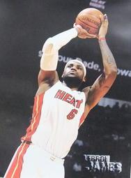 NBA邁阿密熱火詹姆士Lebron James海報22