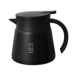 【沐湛咖啡】日本 HARIO VHS-60B (黑) 真空保溫下壺 550ml ★ V60 保溫壺 手沖下壺