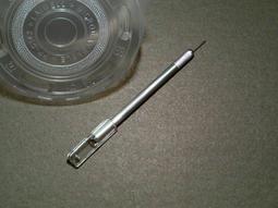 ***甲蟲王國***-NO.J1900-02-甲蟲專用飼育杯打孔針筆(適合打細小圓孔)