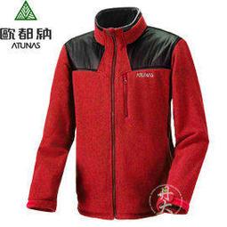 丹大戶外用品【ATUNAS】歐都納 A-G1254M 男款POLARTECR刷毛保暖外套