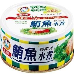 遠洋 鮪魚片-水煮 (90g*3入)